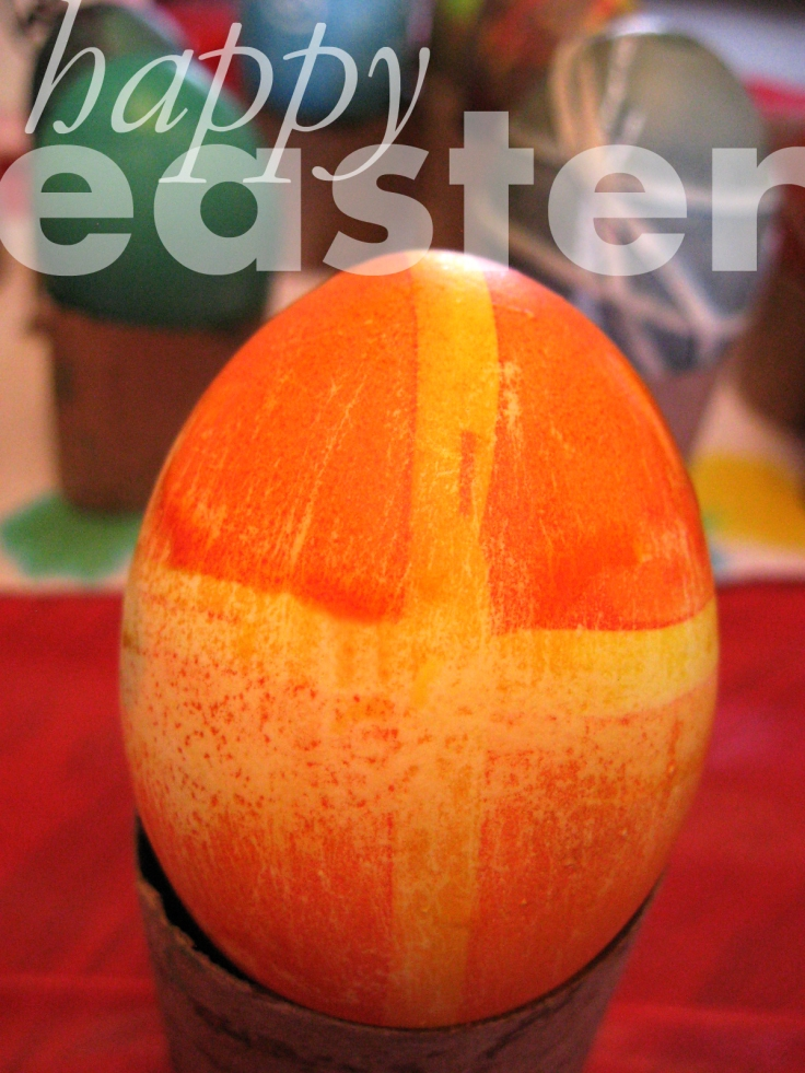 Cross Easter egg