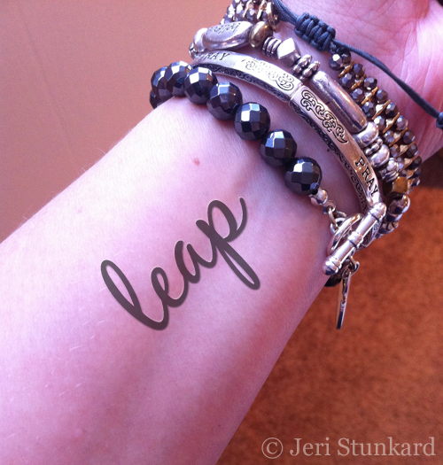 Leap Tattoo