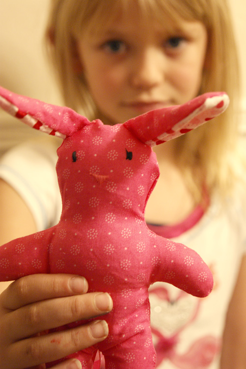 sew bunny stuffed animals