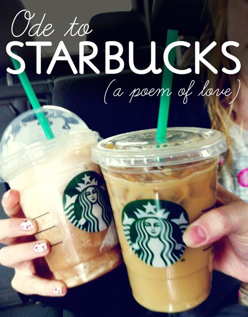 Starbucks poem