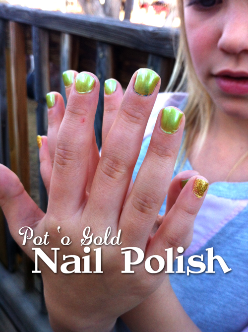 St. Patricks Day Nail Polish