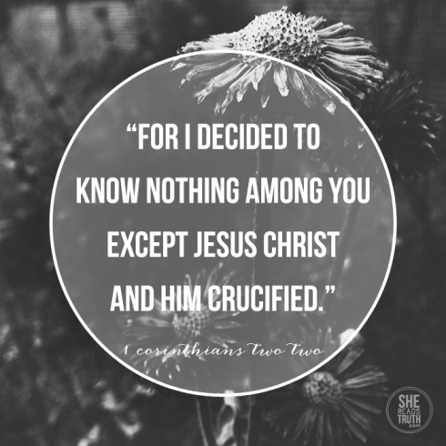 1 Corinthians 2; Share the Truth of the Gospel with someone this Easter