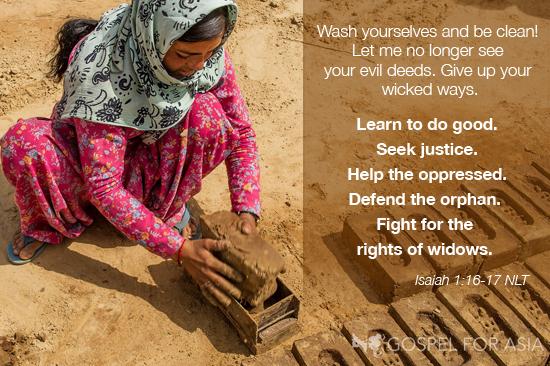 GFA Isaiah Verse
