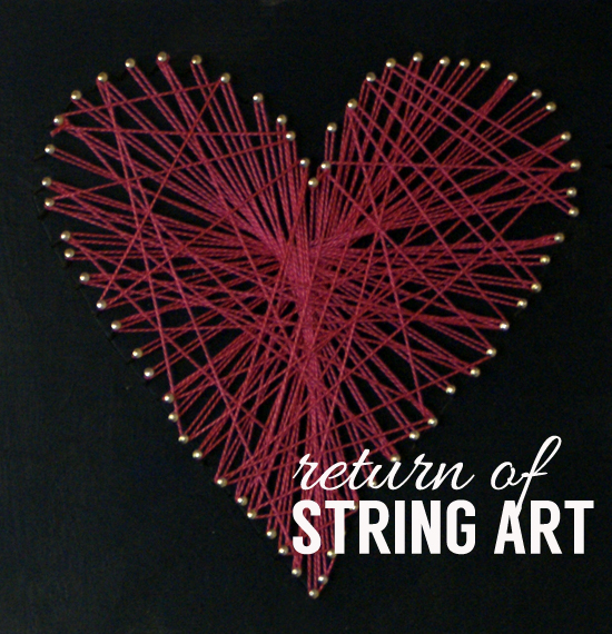 return of string art
