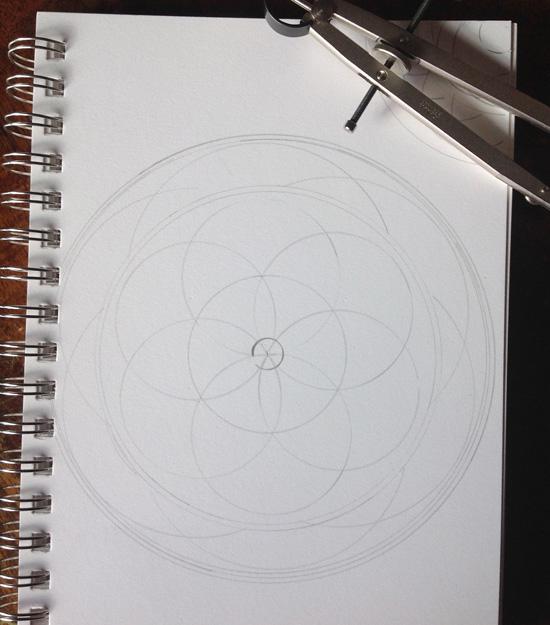 MandalaCompass
