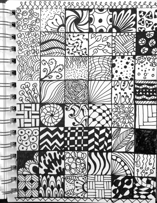 Zentangle Doodles