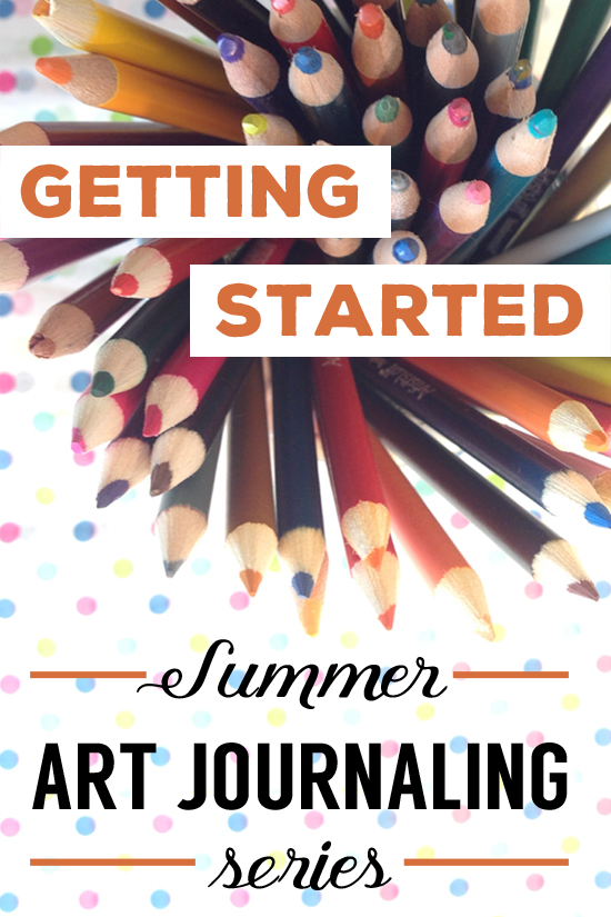 beginning art journaling ideas, prompts