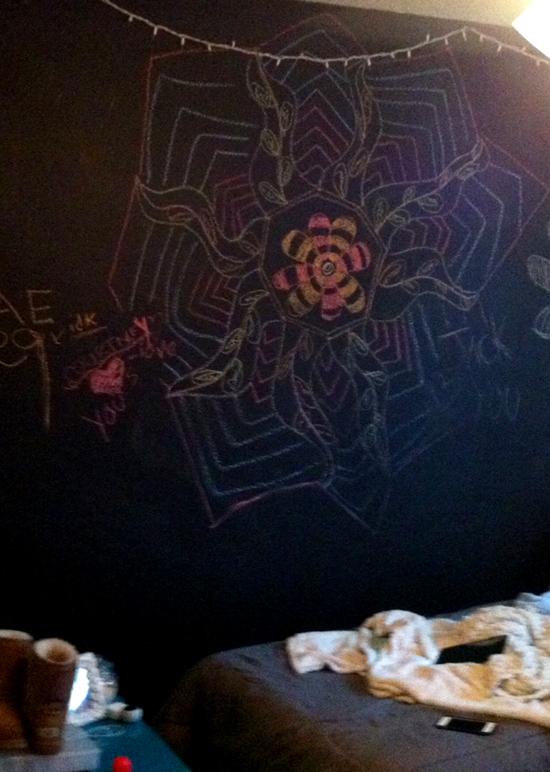 BedroomChaulkboard