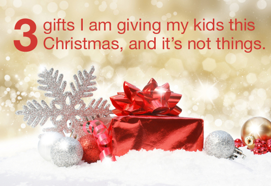 3 gifts I am giving my kids this Christmas