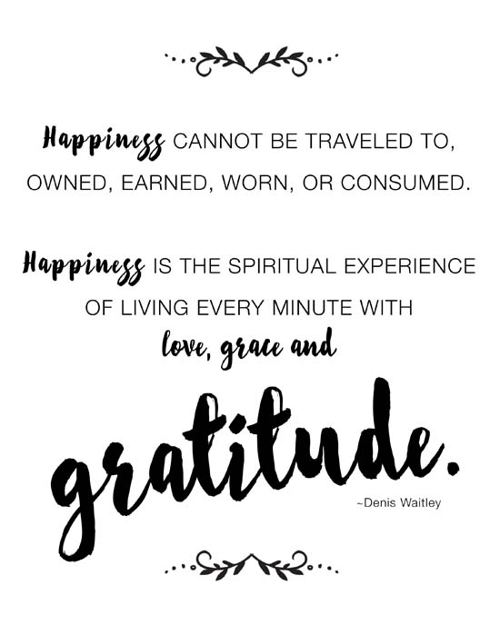 One little word, gratitude