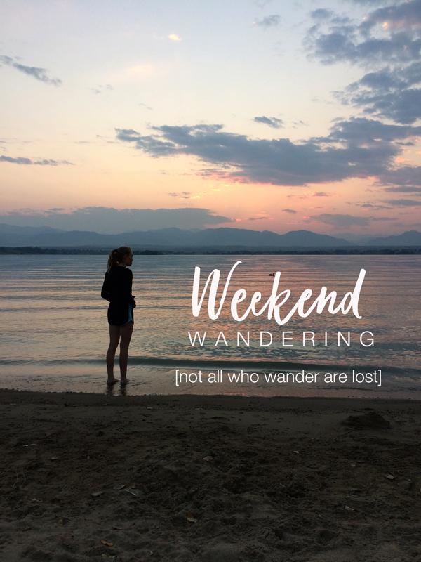 weekend wanderings, get your creative groove back