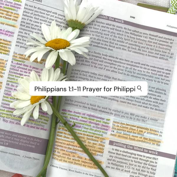 Bible study Philippians