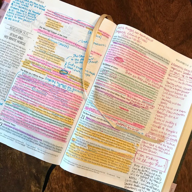 free Revelation Bible Study for women